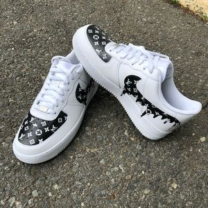 AirForce 1 custom LOUIS VUITTON